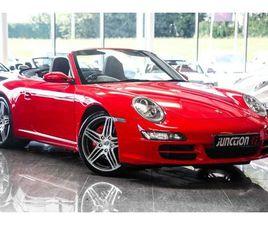 2008 PORSCHE 911 3.8 997 CARRERA S CABRIOLET TIPTRONIC S 2DR