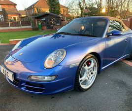 PORSCHE 911 3.8 997 CARRERA S CABRIOLET TIPTRONIC S 2DR* SPECIALIST SERVICE HISTORY *