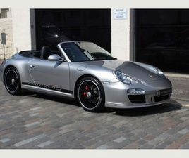 PORSCHE 911 3.8 997 CARRERA GTS CABRIOLET PDK 2DRLOW MILES AND SUPERB
