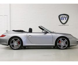 2009 PORSCHE 911 CARRERA 4S PDK CABRIOLET IN SENSATIONAL CONDITION WITH LOW MILEAGE