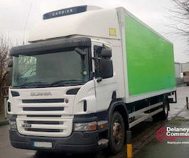 2011 SCANIA P230 4X2 REFRIDGERATED. FULLY TESTED. FOR SALE IN KILDARE FOR € ON DONEDEAL