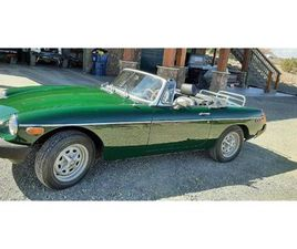 FOR SALE: 1977 MG MGB IN CADILLAC, MICHIGAN