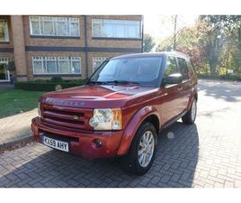 2009 LAND ROVER DISCOVERY 4.0 AUTO HSE LEFT HAND DRIVE LHD UK REGISTERED