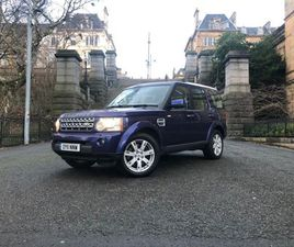 LAND ROVER DISCOVERY 4 3.0 TD V6 XS 4X4 5DRGREAT COLOUR+2OWNERS+