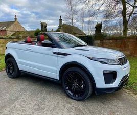 LAND ROVER RANGE ROVER EVOQUE 2.0 TD4 HSE DYNAMIC AUTO 4WD (S/S) 2DRBLACK PACK, HEATED S/W