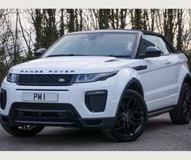LAND ROVER RANGE ROVER EVOQUE 2.0 TD4 HSE DYNAMIC LUX AUTO 4WD (S/S) 2DRRED/BLACK LEATHER,