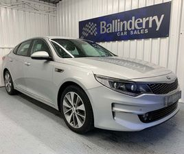 KIA OPTIMA 1.7 CRDI 3 (S/S) 4DRSAT NAV-HALF LEATHER SEATS