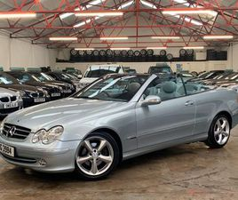 MERCEDES-BENZ CLK 2.6 CLK240 AVANTGARDE CABRIOLET 2DR++OVER £4600 WORTH OF EXTRAS++
