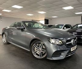 £31,995|MERCEDES-BENZ E CLASS 2.0 E300 AMG LINE CABRIOLET G-TRONIC+ (S/S) 2DR