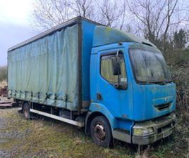 RENAULT MIDLUM7.5 TON CUTAINSIDER. YEAR 2005 FOR SALE IN FERMANAGH FOR £ ON DONEDEAL