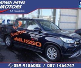 SSANGYONG MUSSO EL 2.2 DSL MT P/T 4WD 4DR AUTO FOR SALE IN CARLOW FOR €27995 ON DONEDEAL