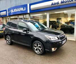 2013 SUBARU FORESTER 2.0 XT 5DR LINEARTRONIC