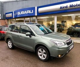 2014 SUBARU FORESTER 2.0 XE LINEARTRONIC 5DR