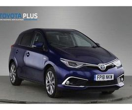 2018 TOYOTA AURIS 1.8 HYBRID EXCEL TSS 5DR CVT [LEATHER]