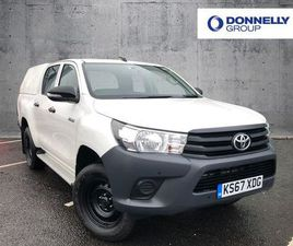 2018 TOYOTA HILUX ACTIVE D/CAB PICK UP 2.4 D-4D