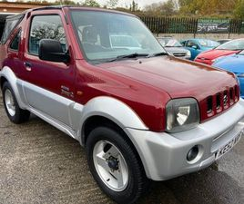 SUZUKI JIMNY 1.3 O2 3DR2 LADY OWNERS FROM NEW