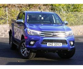 2019 TOYOTA HILUX INVINCIBLE D/CAB PICK UP 2.4 D-4D AUTO