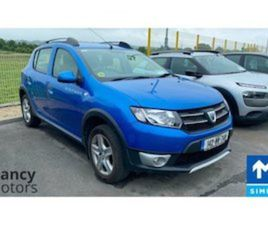 DACIA SANDERO STEPWAY SIGNATURE 1.5 DCI 90 4 FOR SALE IN SLIGO FOR €9000 ON DONEDEAL