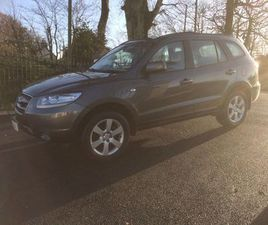 HYUNDAI SANTA FE 2.2 CRTD CDX 5DR (7 SEATS)ONE LADY OWNER FROM NEW