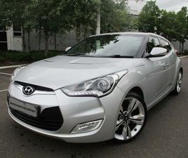 HYUNDAI VELOSTER 1.6 SPORT (MEDIA PACK) 4DRLEATHER,PANORAMIC ROOF