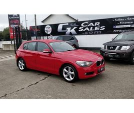 2014 BMW 1 SERIES 1.6 116D EFFICIENTDYNAMICS 5D 114 BHP