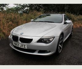 BMW 6 SERIES 3.0 635D SPORT 2DR++LEATHER, SAT NAV, PAN ROOF++