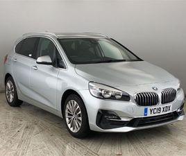 2019 BMW 2 SERIES 218D LUXURY ACTIVE TOURER