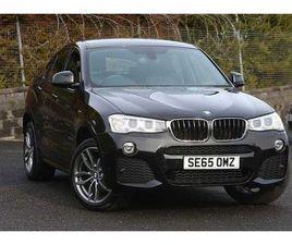 2016 BMW X4 XDRIVE20D M SPORT 5DR STEP AUTO