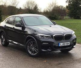 2019 BMW X4 XDRIVE20D M SPORT X 5DR STEP AUTO