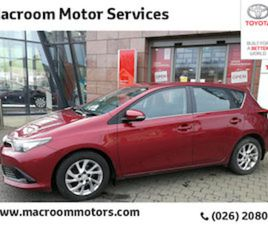 TOYOTA AURIS VVT-I ICON TSS E6 4 DOHC FOR SALE IN CORK FOR €17000 ON DONEDEAL