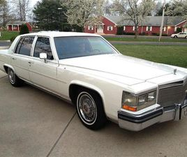 FOR SALE: 1988 CADILLAC BROUGHAM IN STRATFORD, NEW JERSEY