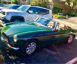 FOR SALE: 1968 MG MGB IN CADILLAC, MICHIGAN