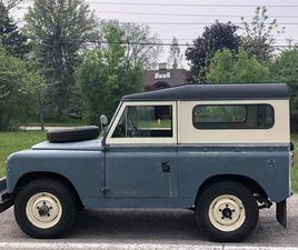 FOR SALE: 1968 LAND ROVER SERIES II 88 IN LONDON, ONTARIO