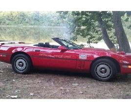 FOR SALE: 1986 CHEVROLET CORVETTE IN CADILLAC, MICHIGAN