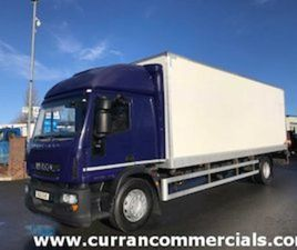 2012 IVECO 18 TON BOX WITH TAIL LIFT FOR SALE IN ARMAGH FOR € ON DONEDEAL