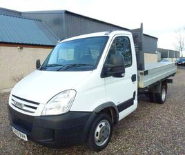 IVECO DAILY 2.3 TD 35S14 LWB DROPSIDE TRUCK 2DR1 OWNER+ONLY 75000 MILES