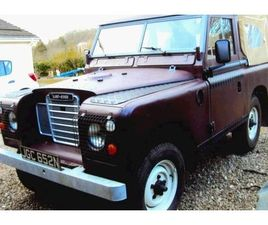 1975 LAND ROVER SERIES III PICKUP