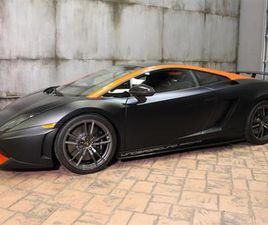 2013 LAMBORGHINI GALLARDO LP570 SUPERLEGGERA