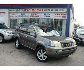 USED 2006 NISSAN X-TRAIL BONAVISTA ACCIDENT FREE
