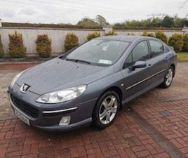 PEUGEOT 407, 2007 TAX 02/21 FOR SALE IN DUBLIN FOR €1750 ON DONEDEAL