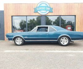 OLDSMOBILE 442 4 SPEED THE REAL DEAL TAHOE TURQUOISE POWERS
