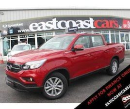 SSANGYONG MUSSO GRAND MUSSO EL 2.2 DSL MT P/T 4WD FOR SALE IN MEATH FOR €30800 ON DONEDEAL
