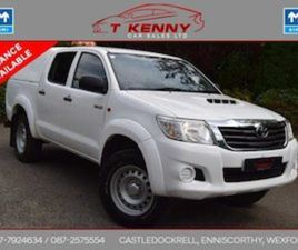 TOYOTA HILUX ACTIVE D-4D 4X4 CREW/CAB 65 K DOE 6/ FOR SALE IN WEXFORD FOR €19850 ON DONEDE