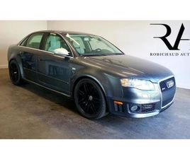 2007 AUDI RS 4 *RS4* MANUELLE 6 VITESSES AWD CUIR TOIT CRUISE