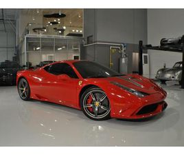 FOR SALE: 2014 FERRARI 458 IN CHARLOTTE, NORTH CAROLINA
