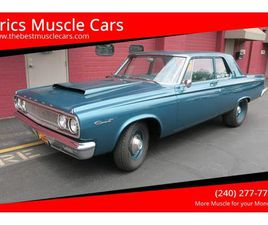 FOR SALE: 1965 DODGE CORONET IN CLARKSBURG, MARYLAND