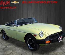 FOR SALE: 1977 MG MGB IN DOWNERS GROVE, ILLINOIS