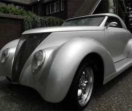 FOR SALE: 1937 FORD ROADSTER IN CADILLAC, MICHIGAN
