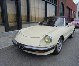 FOR SALE: 1987 ALFA ROMEO SPIDER VELOCE IN LYNCHBURG, VIRGINIA