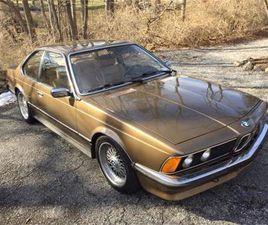 FOR SALE: 1981 BMW 635CSI IN CADILLAC, MICHIGAN